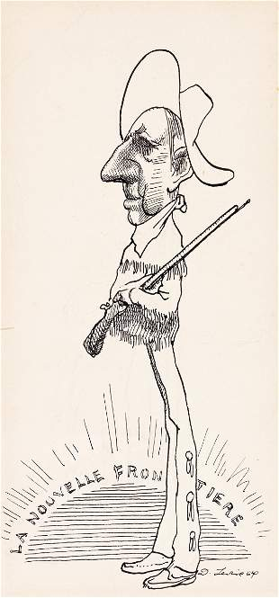 DAVID LEVINE (1926-2009) Group of 7 cartoons featuring