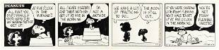 """CHARLES SCHULZ (1922-2000) """"All right, you stupid"""