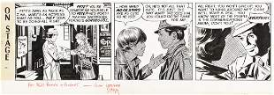 """LEONARD STARR (1925-2015) """"...Pete's away as much as I"""