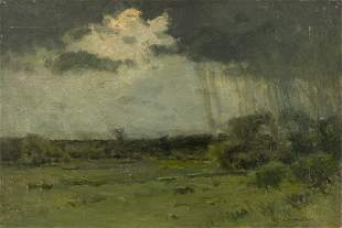 CHARLES WARREN EATON Storm over the Landscape.