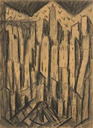 ABRAHAM WALKOWITZ Cityscape.