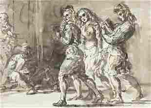 REGINALD MARSH Three Women Walking * Two Women Walking.