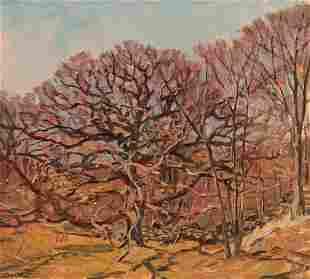 ROBERT EMMETT OWEN Autumn Landscape.