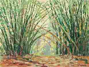 HARRY LESLIE HOFFMAN Landscape, British Guiana.