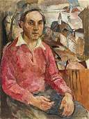 WILLIAM MEYEROWITZ Self-Portrait.