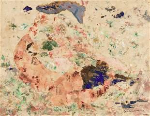JOHN SENNHAUSER Abstract Composition.