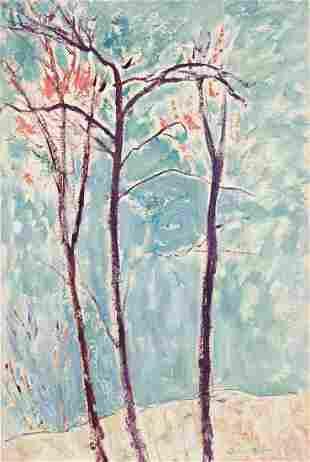 GERSHON BENJAMIN Beech Trees.