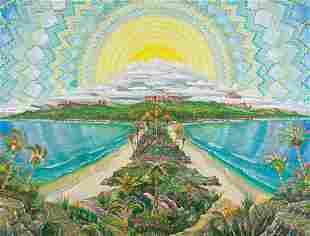JOSEPH PARKER Untitled (Tropical Landscape).