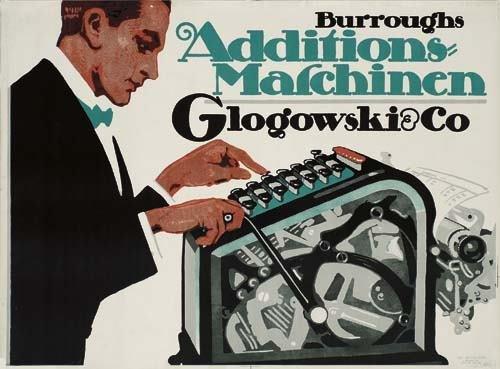 2039007: Poster. ARTIST UNKNOWN GLOGOWSKI & CO. ADDITIO