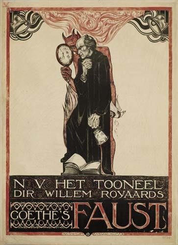 2039016: Poster. RICHARD N. ROLAND-HOLST (1868-1938) FA