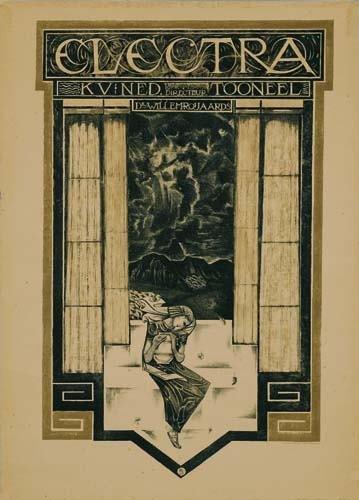 2039017: Poster. RICHARD N. ROLAND-HOLST (1868-1938) EL
