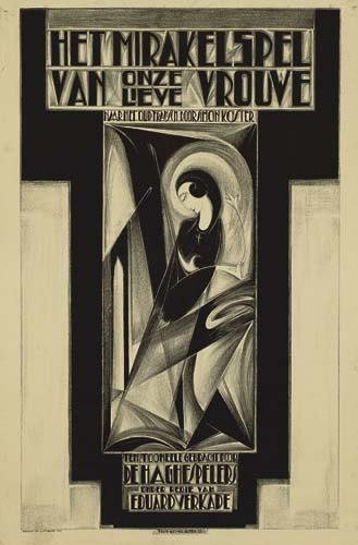 2039018: Poster. GERARD RUTTEN (1902 - ?) HET MIRAKELSP