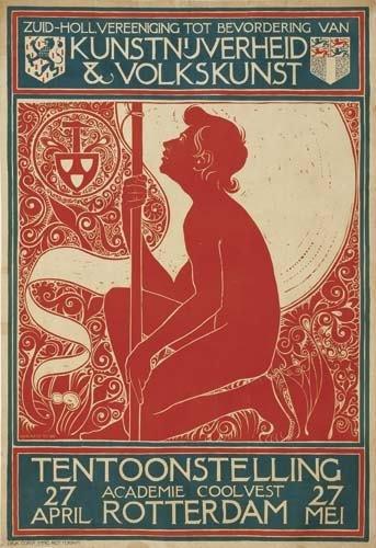 2039019: Poster. GEORG RUETER (1875-1966) KUNSTNIJVERHE