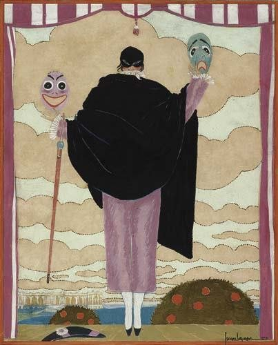2039020: Poster. GEORGES LEPAPE (1887-1971) [THEATRICAL