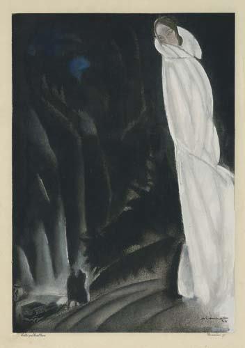 2039022: Poster. CHARLES LOUPOT (1892-1962) [FASHION.]