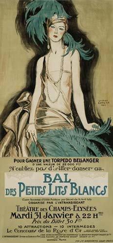 2039023: Poster. GEORGES BARBIER (1882-1932) BAL DES PE
