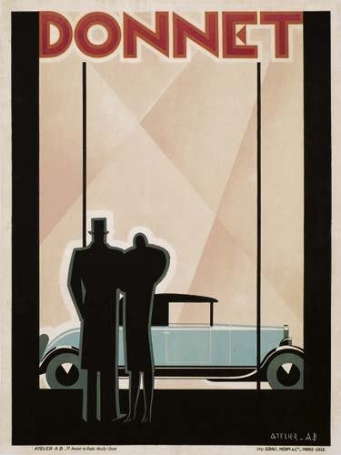2039056: Poster. ALEXEI BRODOVITCH (1898-1971) DONNET.