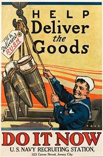 HERBERT ANDREW PAUS (1880-1946). HELP DELIVER THE