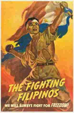 MANUEL REY ISIP (1904-1987). THE FIGHTING FILIPINOS.