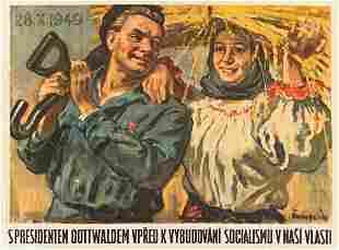 JAN CUMPELÍK (1895-1965). [CZECH / SOCIALISM.]