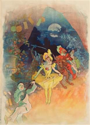 JULES CHÉRET (1836-1932). [MUSÉE GRÉVIN