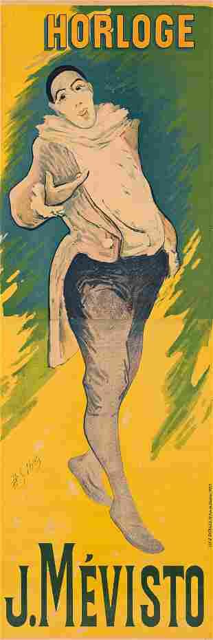HENRI-GABRIEL IBELS (1867-1936). HORLOGE / J. MÉ