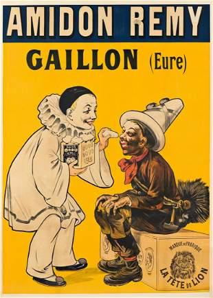 EUGÈNE OGÉ (1861-1936). AMIDON RÉMY /