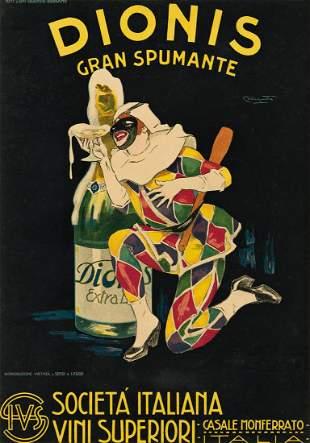 PLINIO CODOGNATO (1878-1940). DIONIS / GRAN SPUMANTE.