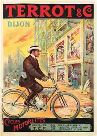 FRANCISCO TAMAGNO (1851-1933). TERROT & CO. / CYCLES