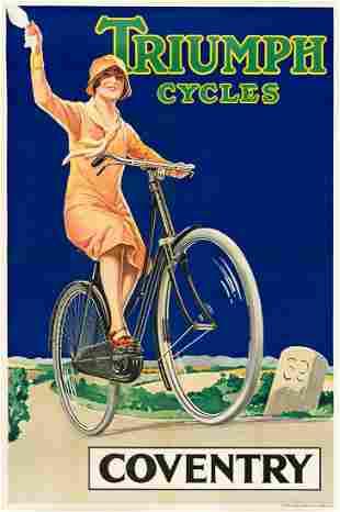 DESIGNER UNKNOWN. TRIUMPH CYCLES / COVENTRY. Circa