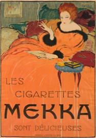 CHARLES LOUPOT (1892-1962).  LES CIGARETTES MEKKA.