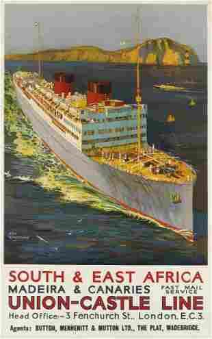 ODIN ROSENVINGE (1880-1957). SOUTH & EAST AFRICA /