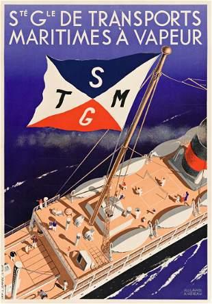 ROLAND ANSIEAU (1901-1987). STÉ GLE DE TRANSPORTS