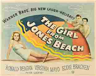 DESIGNER UNKNOWN. THE GIRL FROM JONES BEACH / RONALD