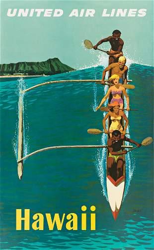 STANLEY WALTER GALLI (1912-2009). HAWAII / UNITED AIR
