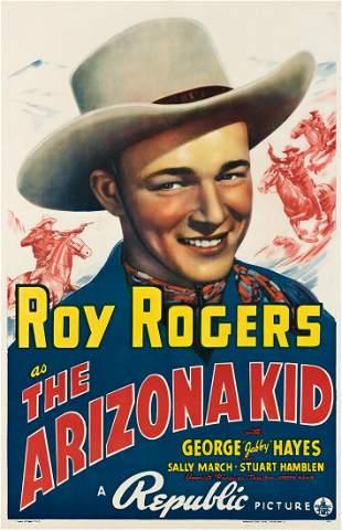DESIGNER UNKNOWN. ROY ROGERS AS / THE ARIZONA KID.