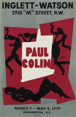 PAUL COLIN (1892-1986). PAUL COLIN / INGLETT - WATSON.