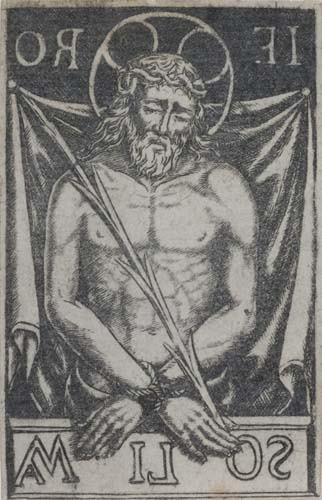 2042001: ITALIAN SCHOOL, 15TH-CENTURY Christ as the Man