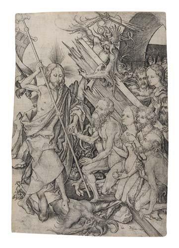 2042005: MARTIN SCHONGAUER Christ in Limbo.
