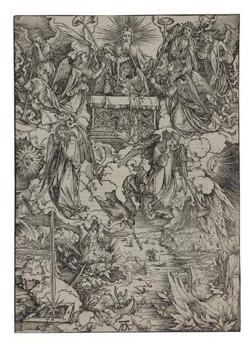 2042009: ALBRECHT DÜRER The Seven Angels with the Trump