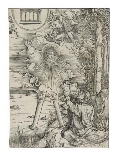 2042010: ALBRECHT DÜRER St. John Devouring the Book.