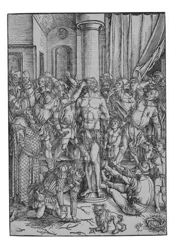 2042011: ALBRECHT DÜRER The Flagellation.