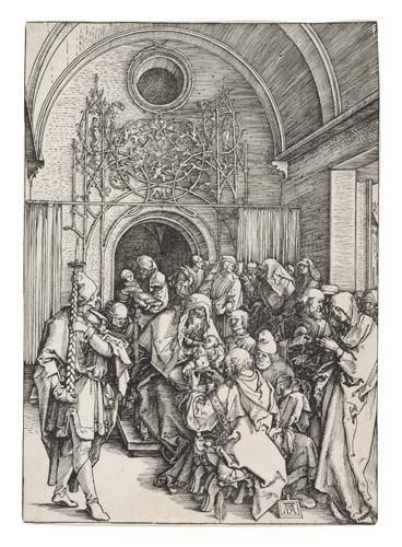 2042012: ALBRECHT DÜRER The Circumcision.