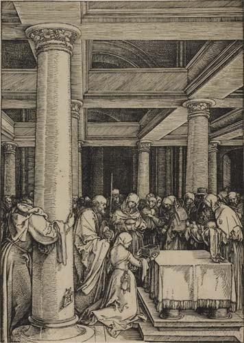 2042013: ALBRECHT DÜRER The Presentation of Christ in t
