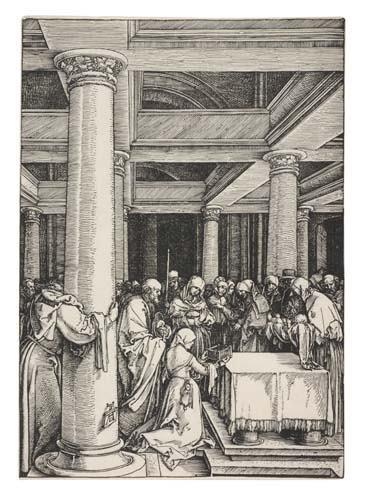 2042014: ALBRECHT DÜRER The Presentation of Christ in t