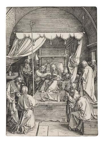 2042016: ALBRECHT DÜRER The Death of the Virgin.