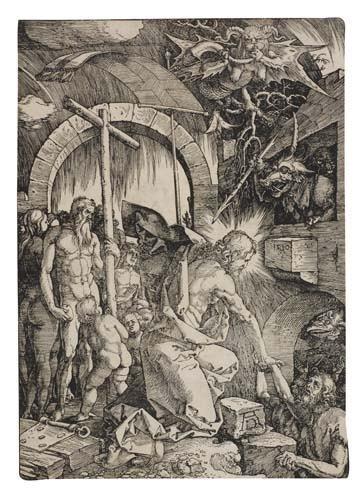 2042017: ALBRECHT DÜRER Christ in Limbo.