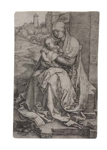 2042018: ALBRECHT DÜRER Virgin and Child Seated by the