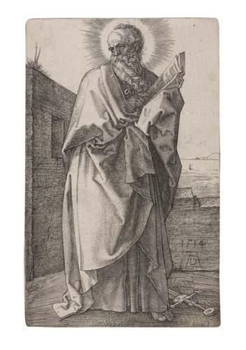 2042019: ALBRECHT DÜRER St. Paul.