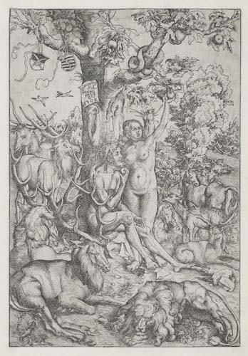 2042023: LUCAS CRANACH Adam and Eve in Paradise.
